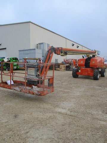 2013 JLG 860SJ STRAIGHT BOOM LIFT AERIAL LIFT WITH JIB ARM 86' REACH DIESEL 4WD 4149 HOURS STOCK # BF9488529-WIB
