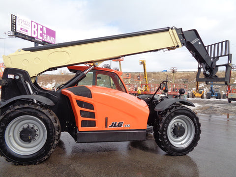 2021 JLG 943 9000 LB DIESEL TELESCOPIC FORKLIFT TELEHANDLER PNEUMATIC 4WD ENCLOSED CAB BRAND NEW STOCK # BF91125139-VAOH