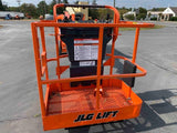 2012 JLG E400AJPN ARTICULATING BOOM LIFT AERIAL LIFT 40' REACH 48V ELECTRIC 621 HOURS STOCK # BF9217559-PAB