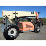 2010 JLG G10-55A 10000 LB DIESEL ENCLOSED CAB TELESCOPIC FORKLIFT TELEHANDLER PNEUMATIC 4WD 7823 HOURS STOCK # BF9561789-699-VAOH