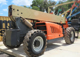 2011 JLG G9-43A 9000 LB DIESEL TELESCOPIC FORKLIFT TELEHANDLER PNEUMATIC 4WD AUXILIARY HYDRAULICS 4101 HOURS STOCK # BF9375259-EBFL