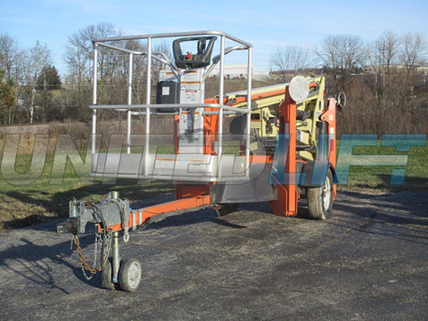 2011 JLG T350 TOWABLE BOOM LIFT AERIAL LIFT 35' REACH 4WD 162 HOURS STOCK # BF9144519-WIB