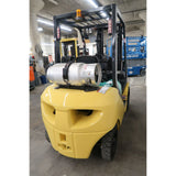 2010 KOMATSU FG25T-16 5000 LB LP GAS FORKLIFT SIDE SHIFTER PNEUMATIC 84/188 3 STAGE MAST 8076 HOURS STOCK # BF31696-DPA ** ONLY $314.00 PER MONTH **