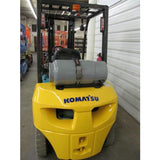 2007 KOMATSU FG25T-16 5000 LB DUAL FUEL FORKLIFT SIDE SHIFTER PNEUMATIC 84/188 3 STAGE MAST 333 HOURS STOCK # BF02788-DPA - OWN FOR ONLY $395 PER MONTH