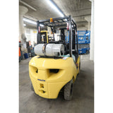 2011 KOMATSU FG25T-16 5000 LB DUAL FUEL FORKLIFT SIDE SHIFTER PNEUMATIC 70/170 3 STAGE MAST 1630 HOURS STOCK # BF72767-DPA