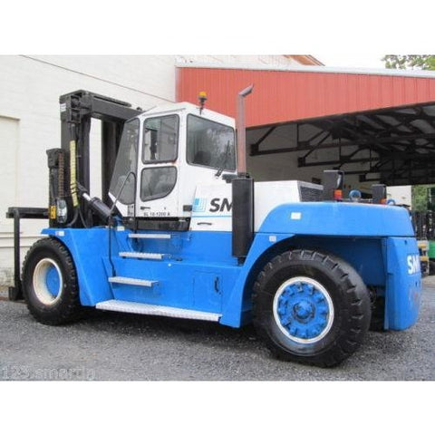 2004 KONECRANES SL18-1200A 40000 LB CAPACITY DIESEL FORKLIFT PNEUMATIC 148/157 2 STAGE MAST ENCLOSED CAB SIDE SHIFTING FORK POSITIONER STOCK # BF18748-DPA ** ONLY $2,555.00 PER MONTH ** - Buffalo Forklift LLC