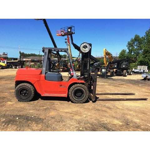 "2006 TOYOTA 7FDU70 15000 LB DIESEL TELEHANDLER PNEUMATIC 187"" SIDE SHIFTER DUAL TIRES 2881 HOURS STOCK # BF9353129BF-399-VAB"