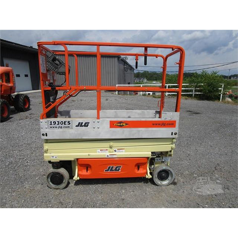 2005 JLG 1930ES SCISSOR LIFT 25' REACH ELECTRIC STOCK # BF967799-85-BNYB
