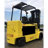 2005 HYSTER E120Z 12000 LB ELECTRIC CUSHION 93/185 3 STAGE MAST STOCK 4202 HOURS # BF9187359-INB