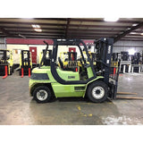 2011 CLARK CMP40 8000 LB DIESEL FORKLIFT PNEUMATIC 3 STAGE MAST SIDE SHIFTER 5900 HOURS STOCK # BF9164039-249-AETXB - Buffalo Forklift LLC