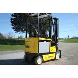 2007 YALE ERC030AHN36TE094 3000 LB ELECTRIC FORKLIFT 94/216 3 STAGE MAST SIDE SHIFTER 2870 HOURS STOCK # BF992079-INB - Buffalo Forklift LLC