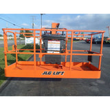 2010 JLG 800A TELESCOPIC BOOM LIFT AERIAL LIFT 80' REACH DUAL FUEL 4WD 1334 HOURS STOCK # BF9525349-PAB