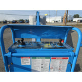 2007 GENIE S40 TELESCOPIC BOOM LIFT AERIAL LIFT 40' REACH DIESEL 4WD 4011 HOURS STOCK # BF9217289-279-BNYB