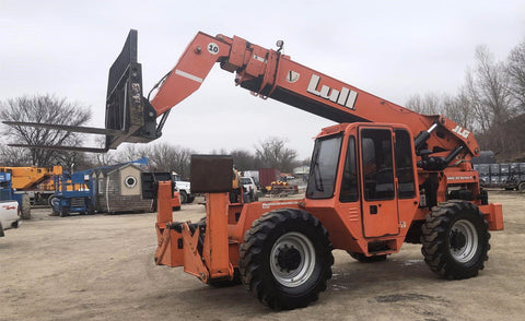 2008 LULL 1044C-54 10000 LB DIESEL TELESCOPIC FORKLIFT TELEHANDLER PNEUMATIC 4WD STOCK # BF959989-PENE - united-lift-equipment
