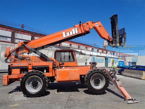 2012 LULL 1044C-54 10000 LB DIESEL TELESCOPIC FORKLIFT TELEHANDLER PNEUMATIC 4WD ENCLOSED CAB 3760 HOURS STOCK # BF9461569-ESPA