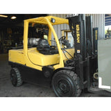 2011 HYSTER H120FT 12000 LB LP GAS FORKLIFT PNEUMATIC 85/163 3 STAGE MAST STOCK # BF921899-WEBU