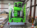 2016 NIFTY TM64 TOWABLE BOOM LIFT AERIAL LIFT 64' REACH DIESEL 58 HOURS STOCK # BF9429749-NTIA