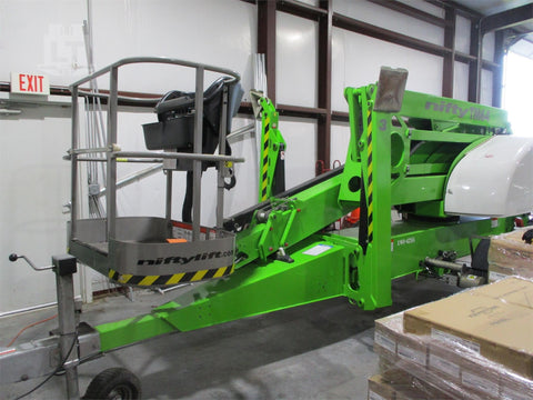 2016 NIFTY TM64 TOWABLE BOOM LIFT AERIAL LIFT 64' REACH DIESEL 281 HOURS STOCK # BF9429749-NTIA
