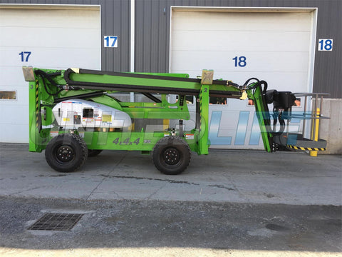 2019 NIFTYLIFT SD64 ARTICULATING BOOM LIFT AERIAL LIFT WITH JIB ARM 64' REACH DIESEL 4X4X4 319 HOURS STOCK # BF9871189-SRSPA