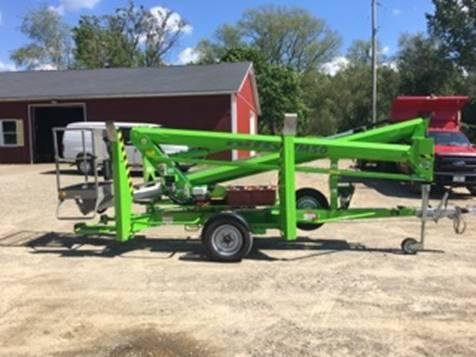 2017 NIFTY TM50HE TOWABLE BOOM LIFT AERIAL LIFT 50' REACH ELECTRIC 42 HOURS STOCK # BF9295239-ATPA