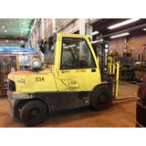 2012 HYSTER H100FT 10000 LB LP GAS FORKLIFT PNEUMATIC 88/111 2 STAGE MAST 1768 HOURS STOCK # BF9175139-279-CONB