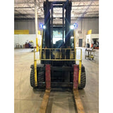 2012 HYSTER H100FT 10000 LB DIESEL FORKLIFT PNEUMATIC 111/155 2 STAGE MAST DUAL TIRES 5689 HOURS STOCK # BF92151-CONB