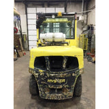 2011 HYSTER H120FT 12000 LB LP GAS FORKLIFT PNEUMATIC 101/208 3 STAGE MAST SIDE SHIFTER 8047 HOURS STOCK # BF9224879-329-CONB