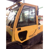 2011 HYSTER H120FT 12000 LB LP GAS FORKLIFT PNEUMATIC 101/208 3 STAGE MAST SIDE SHIFTER 8047 HOURS STOCK # BF9289549-369-CONB