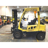 2013 HYSTER H50FT 5000 LB LP GAS FORKLIFT PNEUMATIC 84/189 3 STAGE MAST SIDE SHIFTER 2261 HOURS STOCK # BF919767-CONB