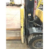 2012 HYSTER H90FT 9000 LB LP GAS FORKLIFT PNUEMATIC 90/185 3 STAGE MAST SIDE SHIFTER 3900 HOURS STOCK # BF9234359-349-MCONB
