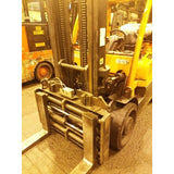 2012 HYSTER S155FT 15500 LB LP GAS FORKLIFT CUSHION 108/133 2 STAGE MAST FORK POSITIONER 4724 HOURS STOCK # BF2464J-CONB ** ONLY $730.00 PER MONTH **