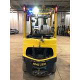 2014 HYSTER S50FT 5000 LB LP GAS FORKLIFT CUSHION 83/189 3 STAGE MAST STOCK # BF999179-CONB