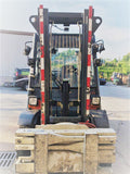 "2014 LINDE H50D 7000 LB DIESEL FORKLIFT PNEUMATIC 96/122"" 2 STAGE MAST ROTATING FORK CLAMP ENCLOSED CAB 787 HOURS STOCK # BF9452239-CONB - United Lift Used & New Forklift Telehandler Scissor Lift Boomlift"