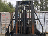 "1994 PRINCETON D4500 4500 LB DIESEL ROUGH TERRAIN FORKLIFT PNEUMATIC 76"" 2 STAGE MAST STOCK # BF975479-RMWA"