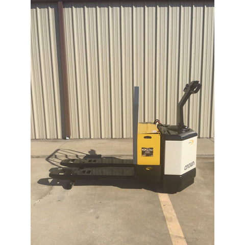 CROWN PW3520-60  6000 LB ELECTRIC WALKIE PALLET JACK 2953 HOURS STOCK #2533-220249-ARB