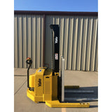 2004 YALE MSW040SEN24TV087 4000 LB ELECTRIC FORKLIFT WALKIE STACKER CUSHION 87/130 2 STAGE MAST 669 HOURS STOCK # 5380-02712B-ARB **OWN FOR $183 PER MONTH ** - Buffalo Forklift LLC