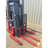 2002 RAYMOND DSX40 4000 LB ELECTRIC FORKLIFT WALKIE STACKER CUSHION 5934 HOURS STOCK # BF968579-89-ARB
