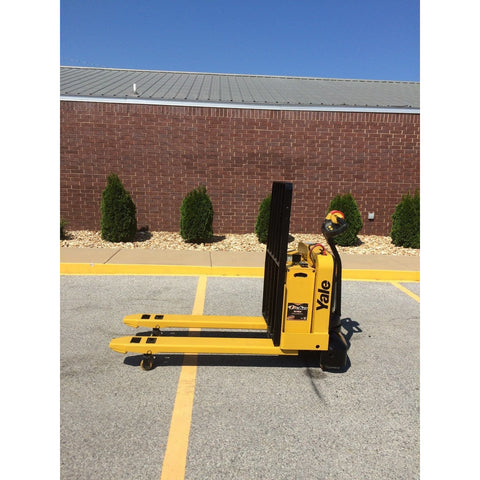2008 YALE MPW050 5000 LB ELECTRIC WALKIE PALLET JACK CUSHION 1253 HOURS STOCK # BF929569-65-ARB