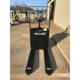 2015 YALE MPB045 4500 LB ELECTRIC WALKIE PALLET JACK CUSHION 1349 HOURS STOCK # 3187-656313-ARB
