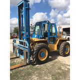 2007 OMEGA LIFT 4415T-12MS 12000 LB 4WD DIESEL ROUGH TERRAIN FORKLIFT PNEUMATIC SIDE SHIFTER 5800 HOURS STOCK # BF9295329-499-ULTX