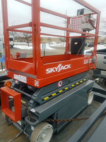 2012 SKYJACK SJIII3215 SCISSOR LIFT 15' REACH ELECTRIC CUSHION TIRES 159 HOURS STOCK # BF942519-WIBIL - United Lift Used & New Forklift Telehandler Scissor Lift Boomlift