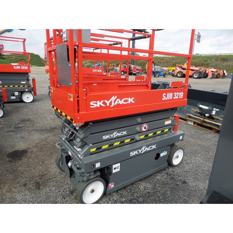 2020 SKYJACK SJIII 3219 SCISSOR LIFT 19' REACH ELECTRIC CUSHION TIRES BRAND NEW STOCK # BF999659-VAOH