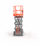 2021 SKYJACK SJ4740 SCISSOR LIFT 40' REACH ELECTRIC SMOOTH CUSHION TIRES WITH DECK EXTENSION BRAND NEW STOCK # BF9237069-BUF - United Lift Equipment LLC