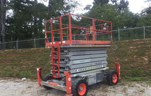 2011 SKYJACK 8850RT SCISSOR LIFT 50' REACH DUAL FUEL ROUGH TERRAIN 1793 HOURS STOCK # BF9172529-WIBIL