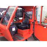 2018 SKYJACK SJ843TH 8000 LB DIESEL TELESCOPIC FORKLIFT TELEHANDLER PNEUMATIC ENCLOSED CAB BRAND NEW STOCK # BF91006959-115-GND