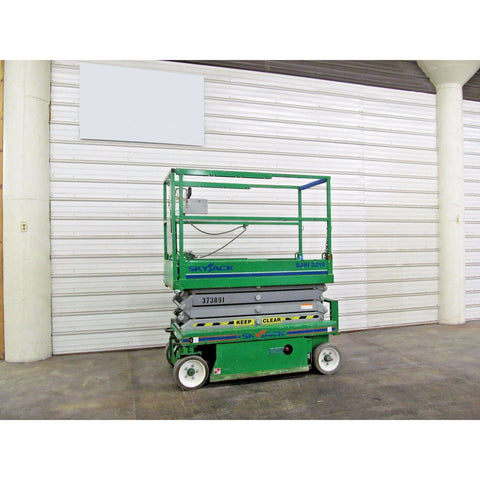 2011 SKYJACK SJIII 3219 SCISSOR LIFT 19' REACH ELECTRIC CUSHION TIRES 136 HOURS STOCK # BF02790-DPA