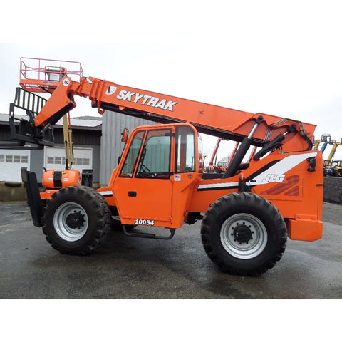 2011 SKYTRAK 10054 10000 LB DIESEL TELESCOPIC FORKLIFT TELEHANDLER 4WD ENCLOSED HEATED CAB 3464 HOURS STOCK # BF9724899-849-VAOH