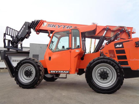 2020 SKYTRAK 12054 12000 LB DIESEL TELESCOPIC FORKLIFT TELEHANDLER 4WD ENCLOSED HEATED CAB STOCK BRAND NEW # BF91451129-VAOH - United Lift Used & New Forklift Telehandler Scissor Lift Boomlift