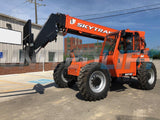 2019 SKYTRAK 6042 6000 LB DIESEL TELESCOPIC FORKLIFT TELEHANDLER PNEUMATIC 4WD ENCLOSED CAB BRAND NEW STOCK # BF9899329-HLOH