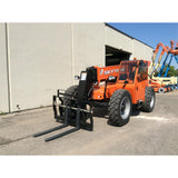 2018 SKYTRAK 8042 8000 LB DIESEL TELESCOPIC FORKLIFT TELEHANDLER PNEUMATIC 4WD ENCLOSED CAB BRAND NEW STOCK # BF91106959-121-GND - United Lift Used & New Forklift Telehandler Scissor Lift Boomlift